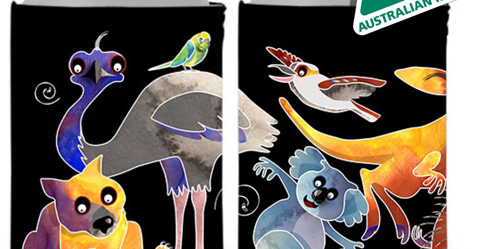 Stubby Cooler - Aussie Animals