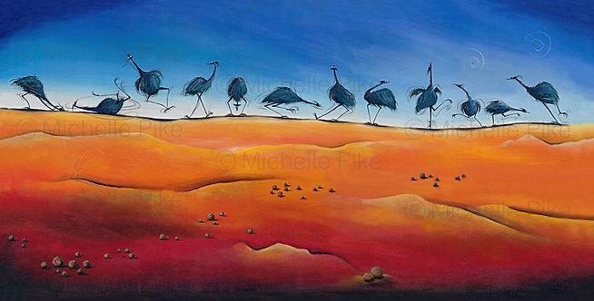 Print - Desert Dance