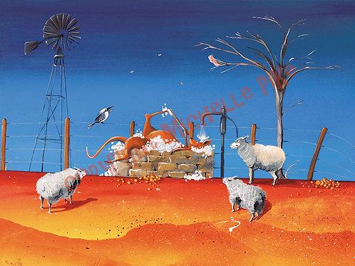 Print - Kangaroo Dip