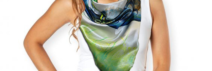 Scarf - Frogmouth
