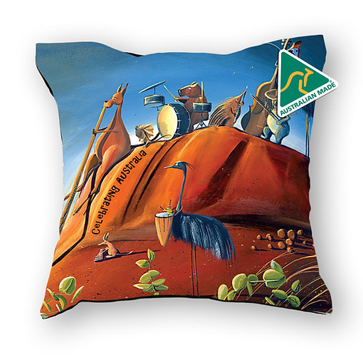 Cushion Cover - Celebrating Australia