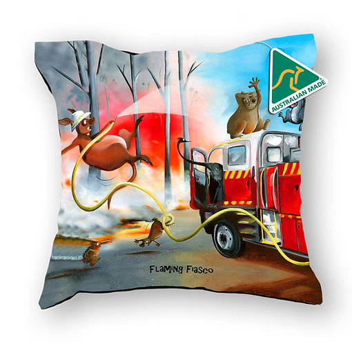 Cushion Cover - Flaming Fiasco
