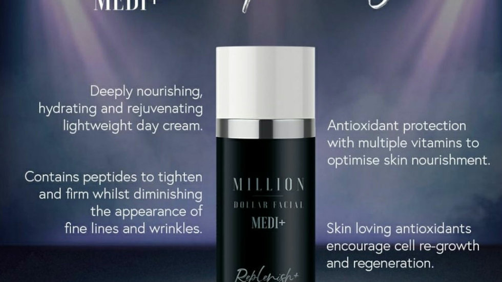 Replenish+ daily moisturiser
