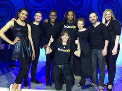 the cast with creator Kelly Neito