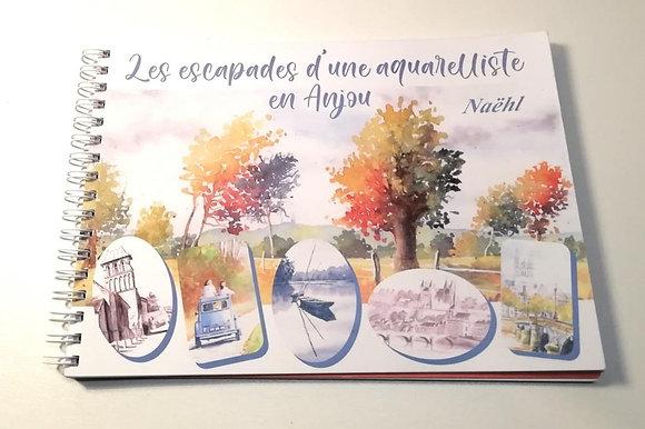 Les escapades d'une aquarelliste en Anjou
