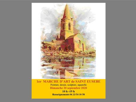 Exposition à l'Eglise de Saint Eusèbe