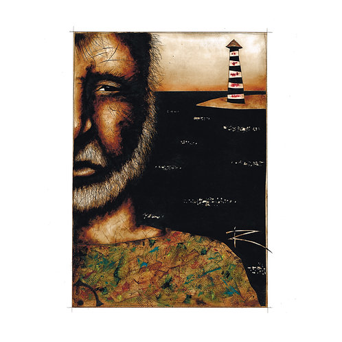 Lighthouse Keeper (A3 autographed poster)