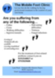 Podiatrist-Sunderland-Leaflet