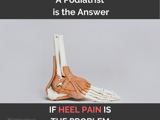 Heel pain prevention tips. For part of the #podshealheels campaign 2020, 3rd February for 2 weeks 👍