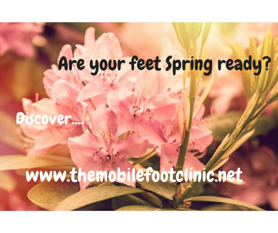 get your feet spring ready