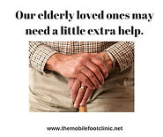 elderly footcare- podiatry - sunderland