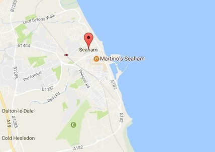 Map of seaham