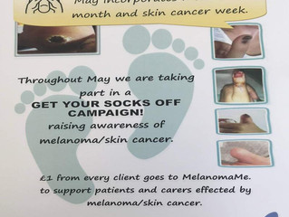 May is Melanoma Awareness Month! Read on...
