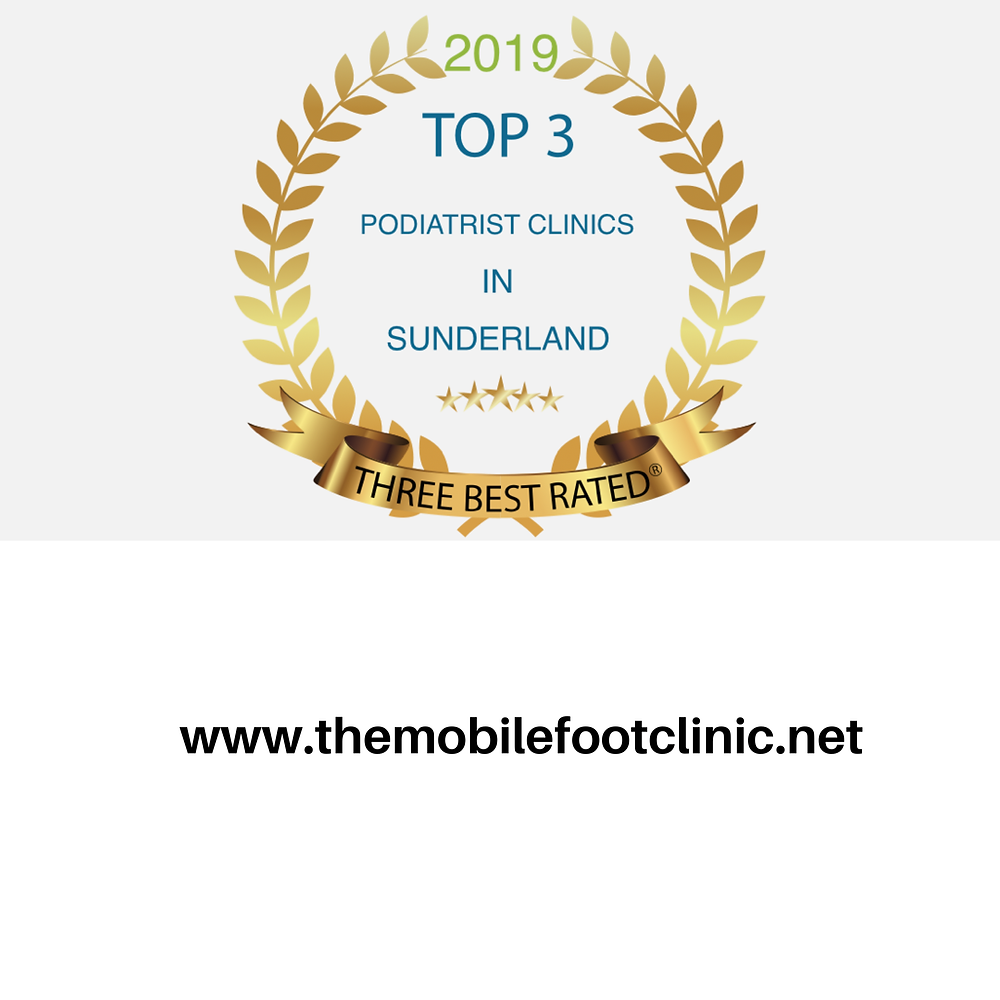 1 of top 3 best podiatrists in Sunderland