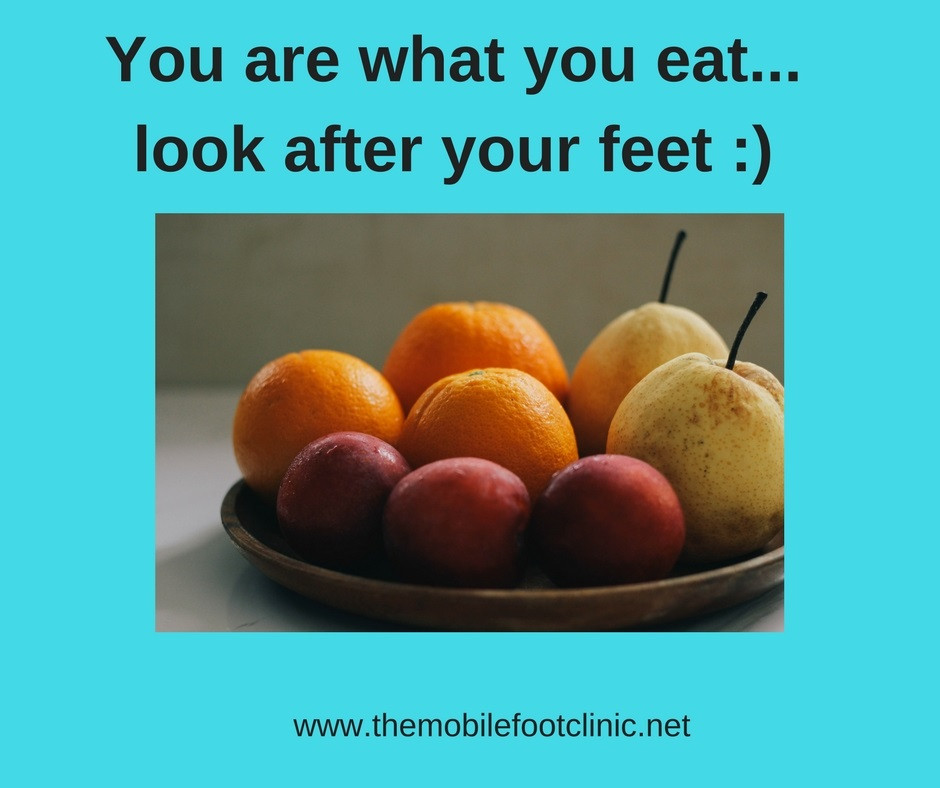 you are what you eat! get healthy!