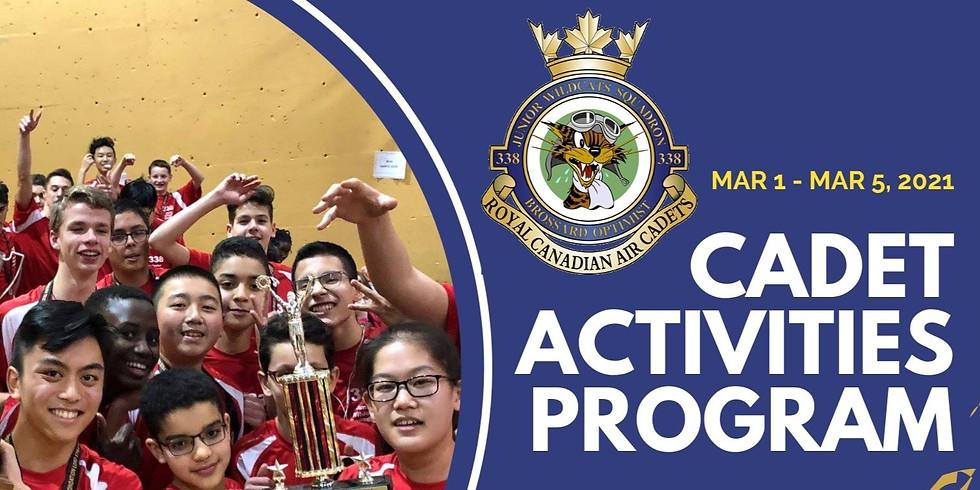 Cadet Activities Program