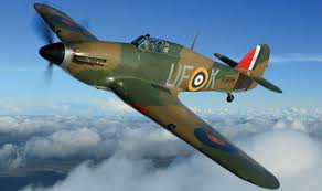 Hawker Hurricane WW II Airplane