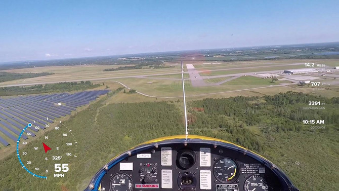 FINAL SELECTION OF PARTICIPANTS FOR NOVEMBER 3, 2018 GLIDER FAMILIARIZATION FLIGHT