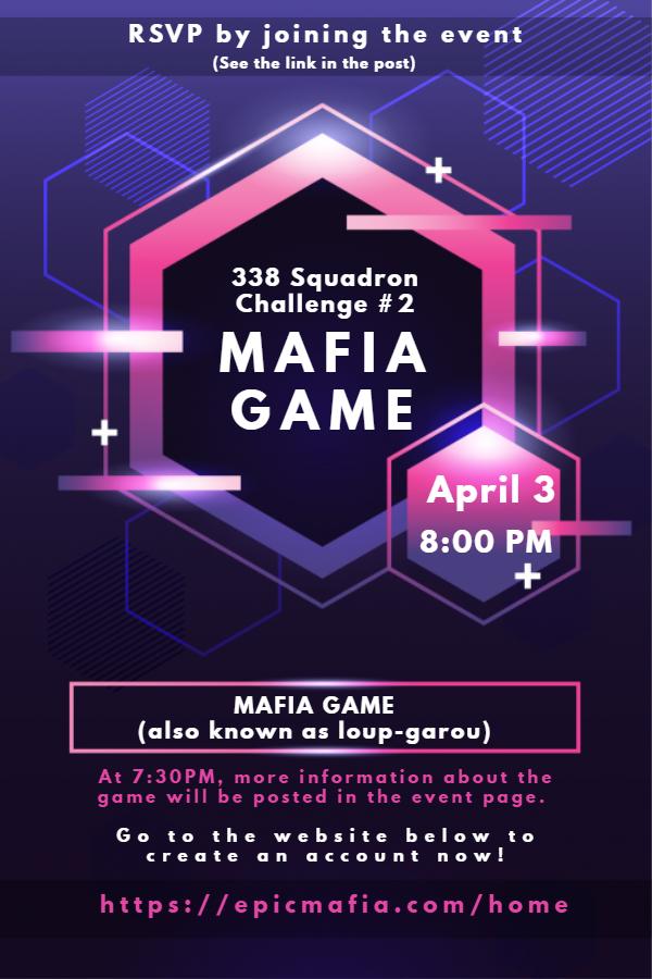 338 CHALLENGE #2 - MAFIA GAME