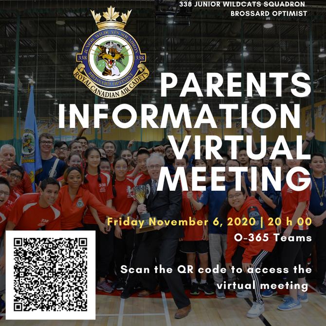 PARENTS INFORMATION MEETING