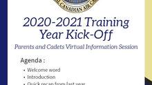 FRIENDLY REMINDER 2020-2021 CADET ACTIVITIES KICK-OFF - SEPT 7TH 20:00