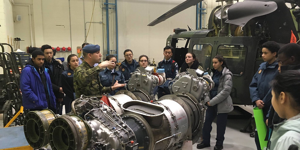 HELICOPTER MAINTENANCE TECHNICAL TRAINING CENTER VISIT