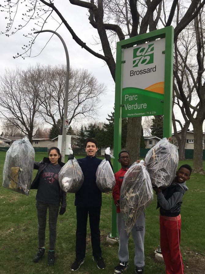 COMMUNITY SERVICE: BROSSARD CITY PARKS SPRING CLEAN UP APRIL 27,2019