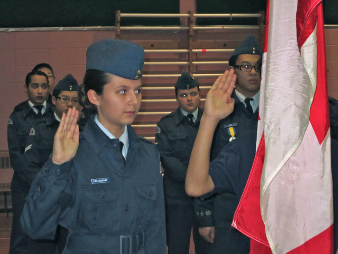 CADET SWEARING IN CEREMONY AND PARENT INFORMATION MEETING