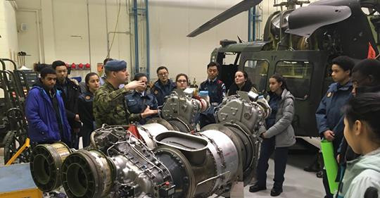 LIST OF PARTICIPANTS RCAF HELICOPTER MAINTENANCE TRAINING FACILITY MARCH 23, 2019