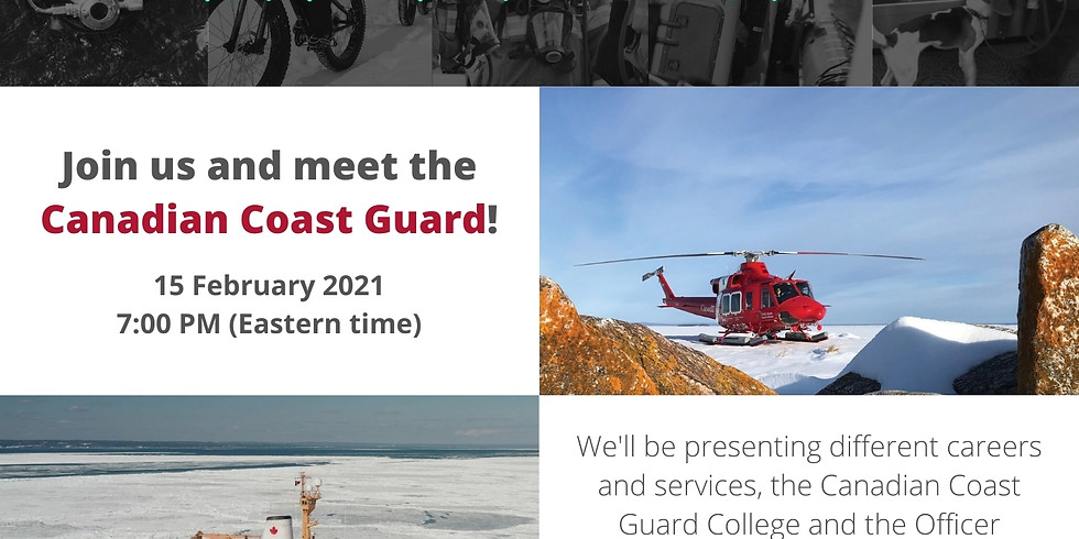 Meet the Canadian Coast Guard
