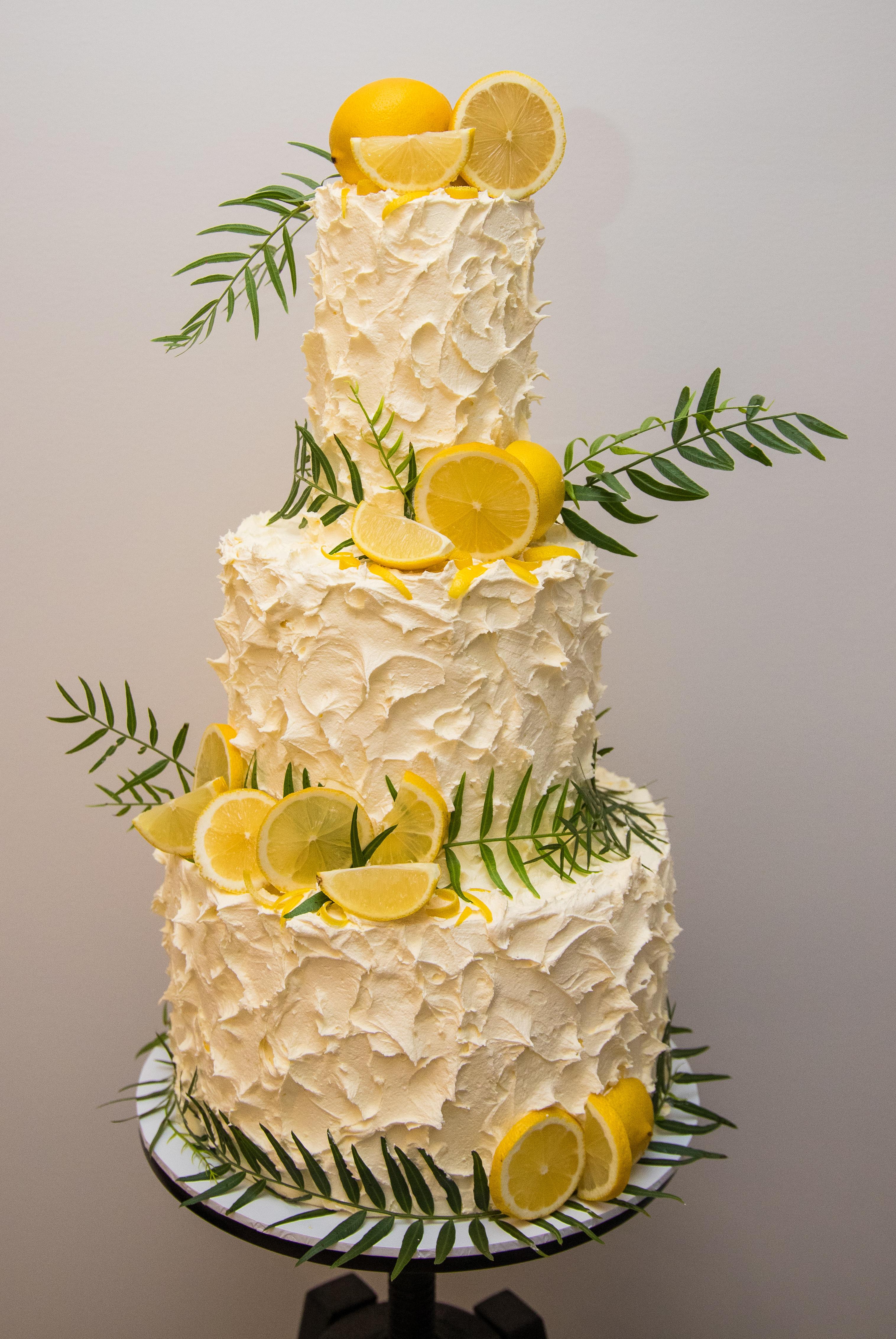 Textured Buttercream and Fresh Lemon