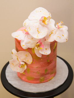 Pink Orchid Cake