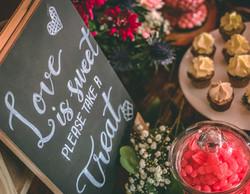 Wedding Dessert and Candy Bar