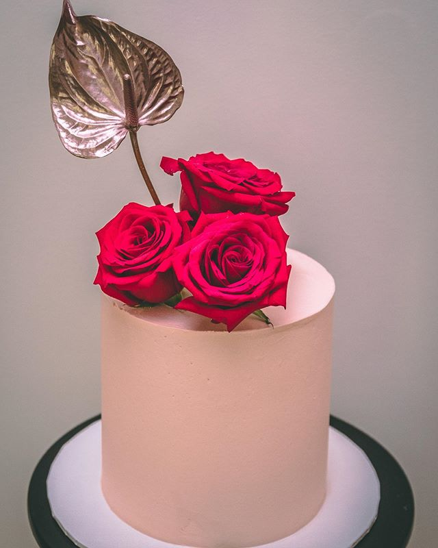 Pretty little cake from a birthday celeb