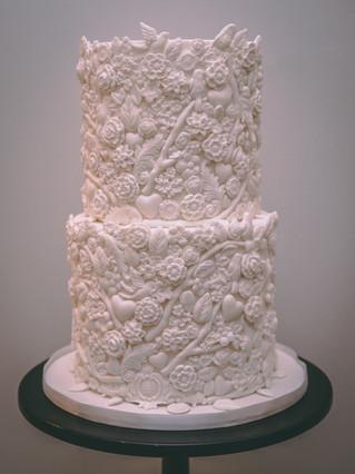 Bas Relief Cake Tutorial