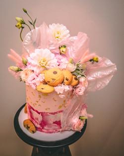 Rice Paper Sails Birthday cake