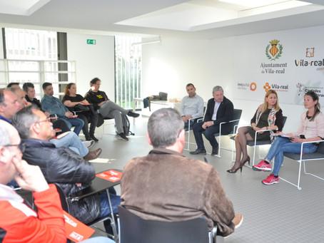 Reunim els clubs i esportistes locals per a seguir treballant junts en la Vila-real del 2030