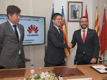 Vila-real, a l'avantguarda tecnològica i de la innovació, de la mà del gegant Huawei