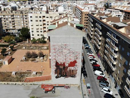 Street Art: el museu a l'aire lliure de TEST creix amb el mural més gran