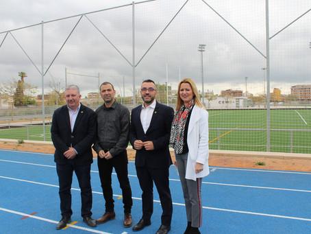Apostem per l'esport i la salut, amb la futura pista d'atletisme i de ciclisme