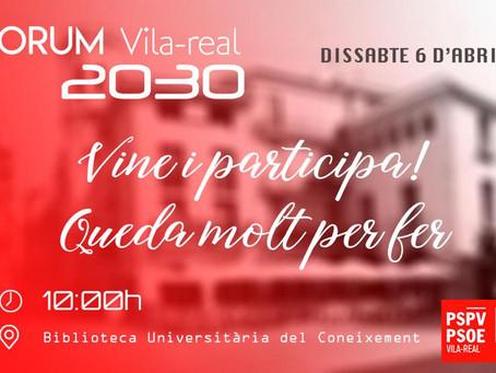 Fem junts la Vila-real del futur
