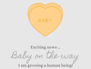 BABY NEWS ~ I'm going to be a Mummy!    (maternity leave details)