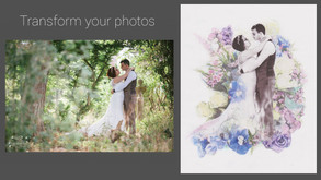 Your wedding photos – like you've never seen them before.