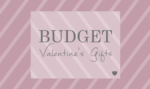 Budget Valentine's Gifts ~ unique, personalised and handmade, delivered gift-wrapped with love