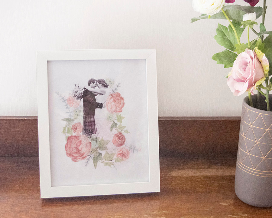 Wedding Photo Artwork - Pamela Jane Phot