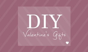 DIY Valentine's Gifts ~ quick, easy and simple steps to maximise your memories