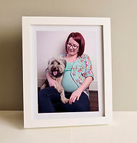 Framed picture- pregnancy.jpg