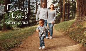 Outdoor Family Photo Shoot ~ What to Wear Guide