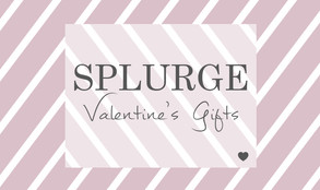 Splurge this Valentine's ~ splash out for your sweetheart with an experience that give you memor