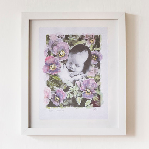 Baby Photo Artwork - Pamela Jane Photogr